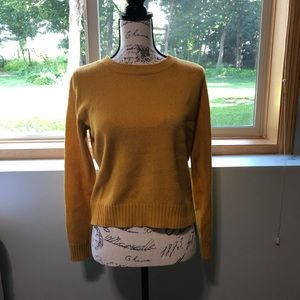 Divided Yellow Sweater